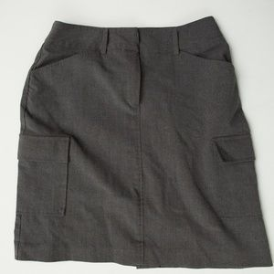 Geoffrey Beene Sport Gray pencil skirt size 4